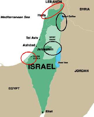 Situation In Israel Today Defenders Of The Catholic Faith - Map of israel today
