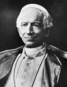 pope leo xiii rerum novarum essay Free online library: the pontificate of leo xiii (1878-1903) and the encyclical rerum novarum(essay) by journal of markets & morality business philosophy and religion capitalism religious aspects democracy encyclicals, papal papal encyclicals socialism teaching social aspects.