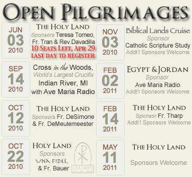 Open Pilgrimages updated