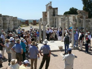 Steve Teaching at John's Tomb in Ephesus