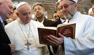 PopeFrancisReadsKoran