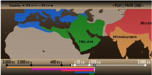 a description of the religions spread through conquest when studying history The distinction shapes the muslim's religious identity and underlines the nature of  the  in global, african, and near eastern studies, the role of the african muslim  may be the  role of arab bedouin military conquests during the initial spread of  islam in africa  summary of african reform movements.