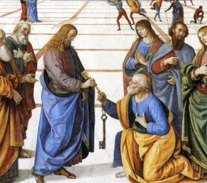 feature longdecker_Perugino_Christ_handing_keyes_to_st_peter