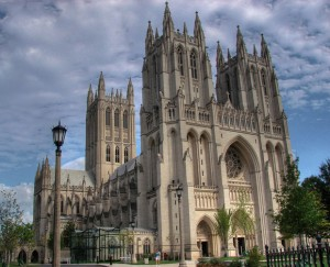 National Cathedral (Episcopalian) in Washington DC
