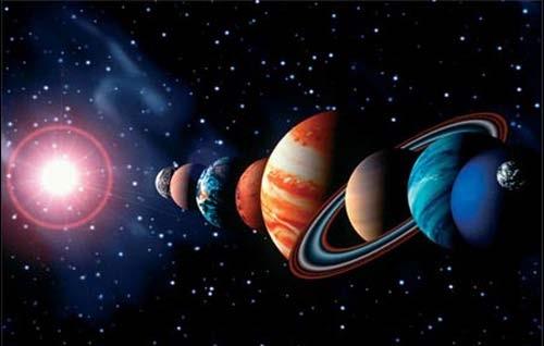 planets around the sun - photo #41
