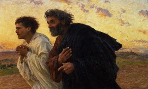the-disciples-peter-and-john-running-to-the-sepulchre-on-the-morning-of-the-resurrection-eugene-burnand